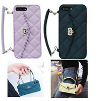Handbag Crossbody Chain Wallet Strap Card Case Cover For iPhone X XS MAX 7 8