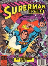 SUPERMAN EXTRA 01 - DE DODELIJKE STEEK (1984 BALDAKIJN)