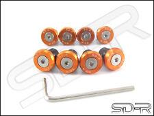 SD-R Windscreen Bolts M5 Wellnuts Set KTM RC8 / R Orange