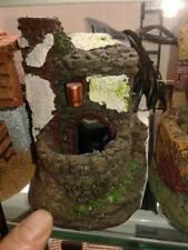 Fontana acqua vera presepe x pastori 7 10 cm  crib shepherds water big gia 50