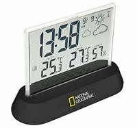 National Geographic Transparent Wireless Weather Station, Black