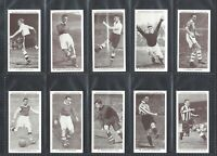 CHURCHMAN - ASSOCIATION FOOTBALLERS, 2ND - FULL SET OF 50 CARDS