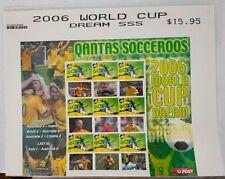 2006 World Cup Dream SSS Stamp Sheet MUH