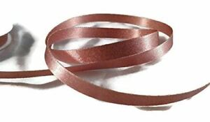 Rose Gold Satin Shimmer Ribbon - 5 Yards-