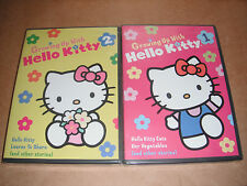 Growing Up with Hello Kitty  Vol.1 and 2 NEW (DVD, 2012)