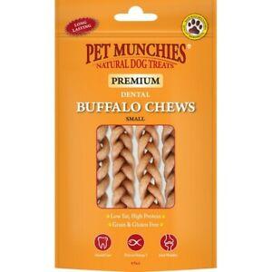 Pet Munchies Premium Buffalo Dental Chews, 100% Natural