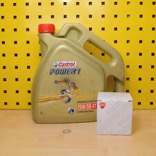 Ducati alle Modelle (ausser Panigale) Ölwechsel Öl Ölfilter Castrol Power1 15w50