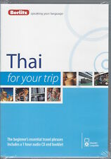 Berlitz Thai For Your Trip *IN STOCK IN MELBOURNE - NEW*