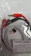 Apple iPhone 4 4s 5 5s 5c 6 de 6 Plus de cable de diagnóstico de prueba de línea de alimentación dedicada