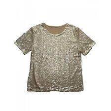 Damen-Shirts mit U-Ausschnitt ohne Muster