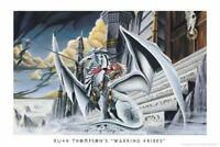 Warring Tribes Dragon by Ruth Thompson inch Poster 24x36 inch