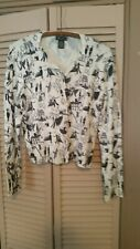 evie SIZE pm button down ladies cardigan sweater