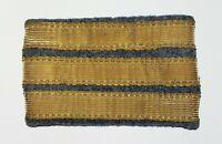 WWI 1 Trenza Grado Capitán 1914-1918 Original Azul Horizon Francia Uniforme