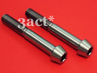 2 pcs M10 x 70mm 1.25 Pitch Taper Head Titanium / Ti Bolt - Brake Caliper Mount