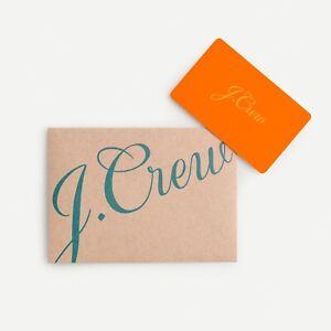 J.Crew Gift Card, Worth $139.88, Save $30.00!