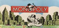 MONOPOLY CLASSIC Brand New Educational Board Game Gift Toy Kids Children Family