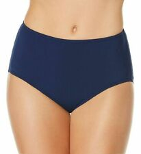 NWT   $54  JANTZEN  10   HIGH WAIST CORE TUMMY CONTROL  405  BLUE BOTTOM