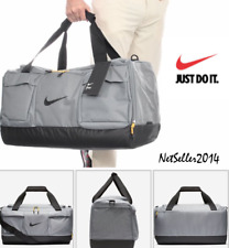 🆕🔥 BIG Nike Sport Golf Duffel Carry Bag Gym Bag Grey Pockets BA5785-065 ✅