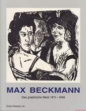 Fachbuch Max Beckmann - Das grafische Werk 1911-1946 sehr selten, REDUZIERT, NEU