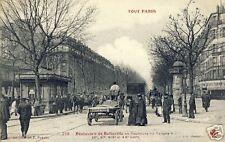 France CPA Paris Boulevard de Belleville (f1572)