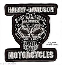 HARLEY DAVIDSON MOTOR PARTS SKULL VEST JACKET PATCH COGNITION **DISCONTINUED**