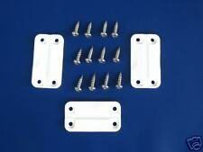 NEW IGLOO PARTS COOLER HINGES WITH SCREWS - SET OF 3