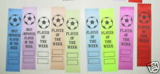 "SOCCER AWARD RIBBONS,KIDS FUNDAY, PARTICIPATION ""player of the week only"""