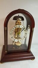 FRANZ HERMLE Winchester 14 day Skeleton mantle Clock Seth Thomas