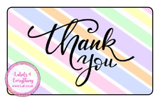 Thank You Sweet Cone Gift Box Teacher Assistant Friend Rectangle x 21 Stickers