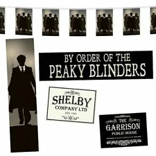 Peaky Blinders Party Decoration Pack - Bunting - Posters - Banners