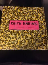 Vintage Keith Haring Gift Wrap + Gift Cards NEW Sealed 1992 12 Sheets 4 Patterns