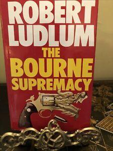 Robert Ludlum The Bourne Supremacy Hardback 1987