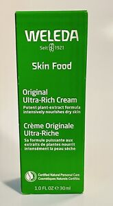 Weleda Skin Food Original Ultra-Rich Cream 1 oz New Exp 05-2022