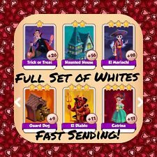 Coin Master Full Halloween Set (All Whites) El Diablo Etc (FastDelivery)