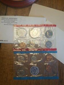 1970 P,D & S , U.S. Mint Set in OGP -- INCLUDES KEY DATE SILVER HALF 1970-D!