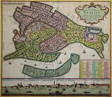 Venedig - Iconografica - Homann Erben um 1762 - Rare original - Venice - Venezia