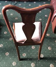 Antique vintage set of 2 traditional dining chairs