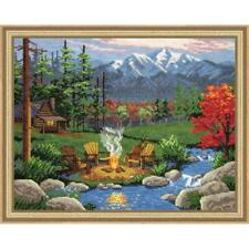 Design Works™ Camp Fire Counted Cross-Stitch Kit