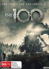 The 100 : Season 1-3 (DVD, 2016, 11-Disc Set)