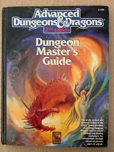 Advanced Dungeons & Dragons  Dungeon Masters Guide AD&D 2nd edition by TSR, 1989