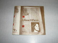 LILIANE SAINT PIERRE 45 TOURS BELGIQUE GOD WAS DOOD