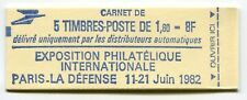 RC 5966 FRANCE CARNET 2155-C 1a SABINE 5 TIMBRES A 1,60f MNH NEUF **