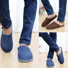 1Pair New Men Mens Anti-slip Shoes Soft Warm Cotton House Indoor Slippers Shoes
