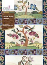 Crewelwork Canvas Anita Goodesign Embroidery Design Machine CD