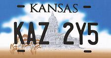 Incorniciato stampa-soprannaturale Impala Numero License Plate KAZ 2y5 (PICTURE ART)