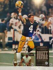 Brett Favre Signed Green Bay Packers 16x20 Photo Inscribed Favre COA & Proof