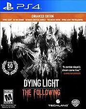 Dying Light The Following Enhanced Edition (PS4) EXCELLENT CONDITION SHIPS FAST