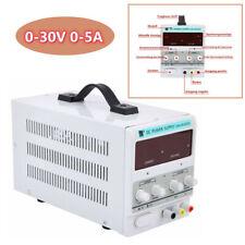 DC Regelbar Labornetzgerät Netzgerät Labornetzteil Trafo 0-30V 0-5A Power Supply