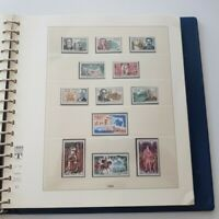 ALBUM LINDNER 1963-1974, timbres de France
