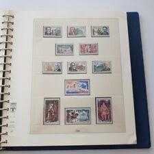 ALBUM LINDNER 1963-1974, timbres de France